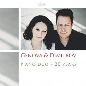 "CD ""20 Years Genova & Dimitrov Piano Duo"" / Cover"