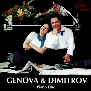 Genova & Dimitrov Piano Duo (Gega New GD 240) |Cover