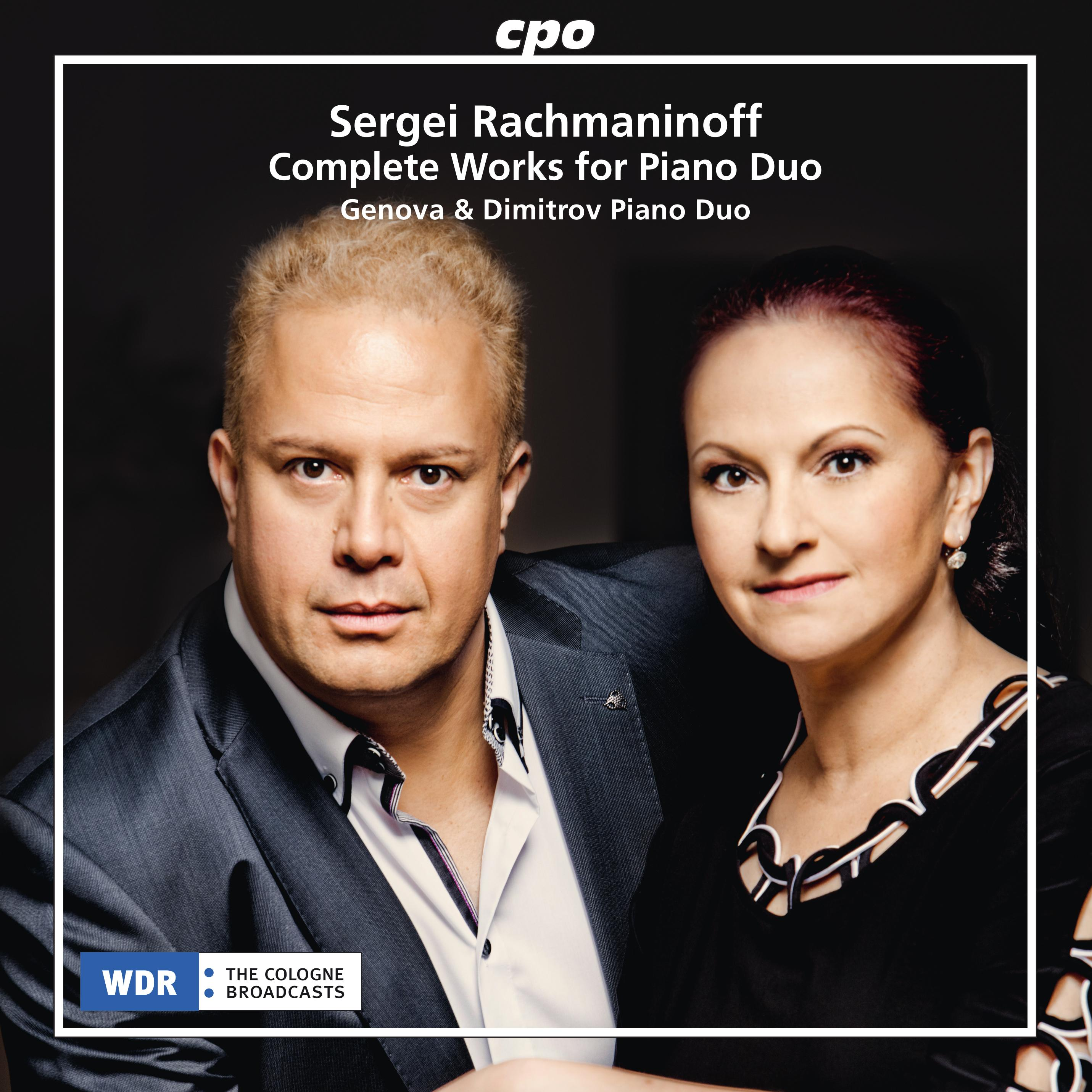 Sergei Rachmaninoff • Complete Works for Piano Duo (cpo 555 326-2) // Cover